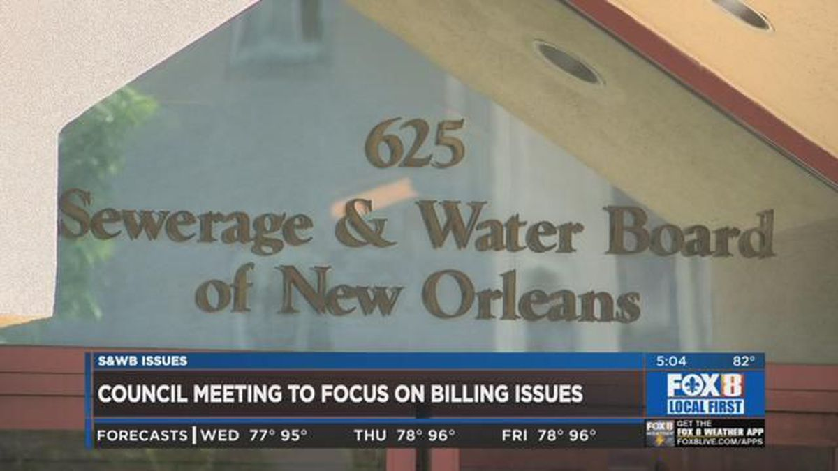 Council committee briefed on S&WB billing process