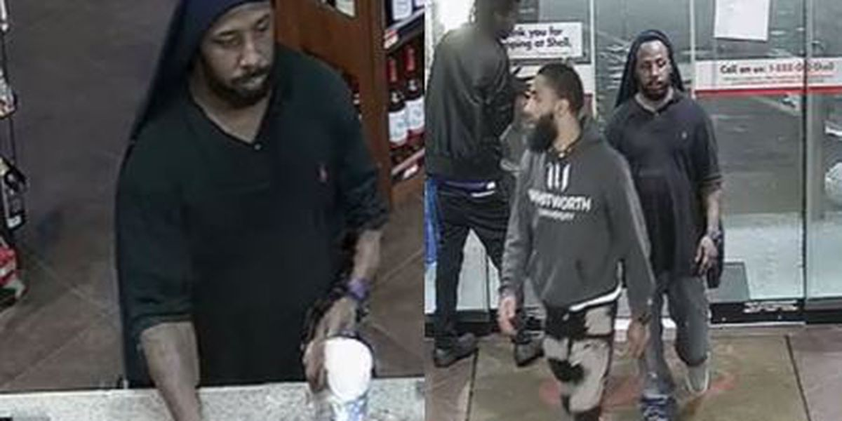 Suspects sought for stealing purse and credit cards from vehicle