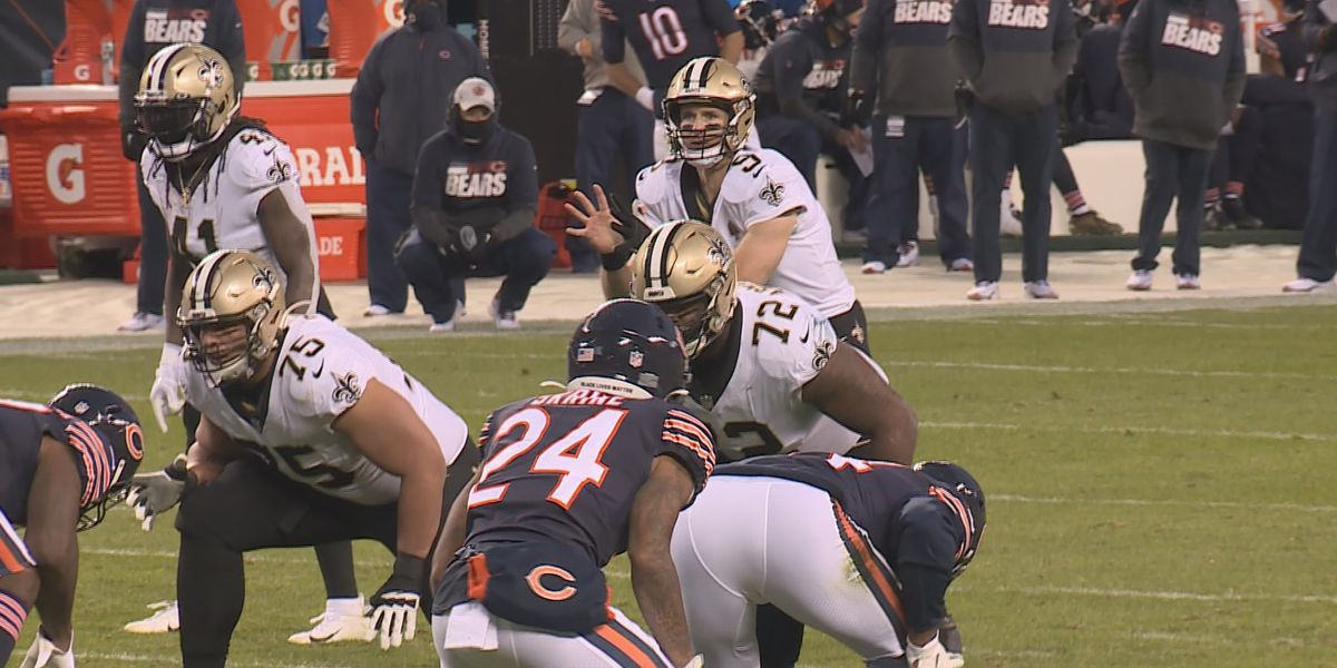 Saints' preparation for Chicago's windy weather pays off