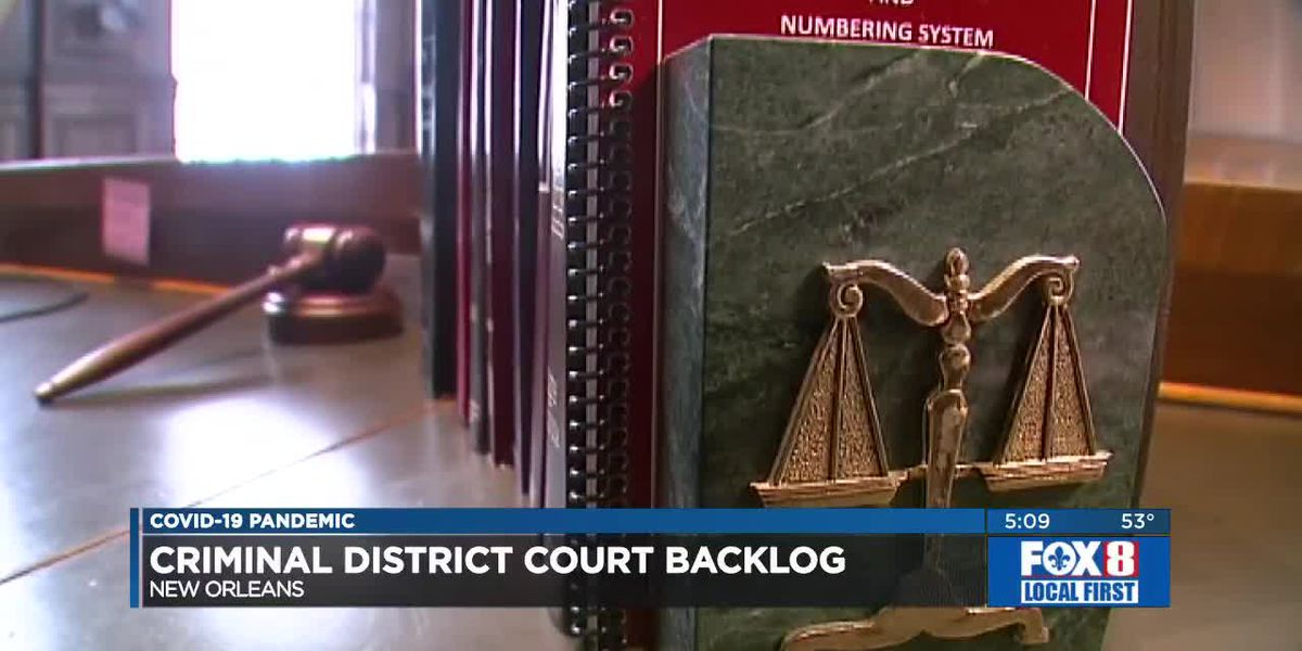 Orleans Criminal District Court Backlog
