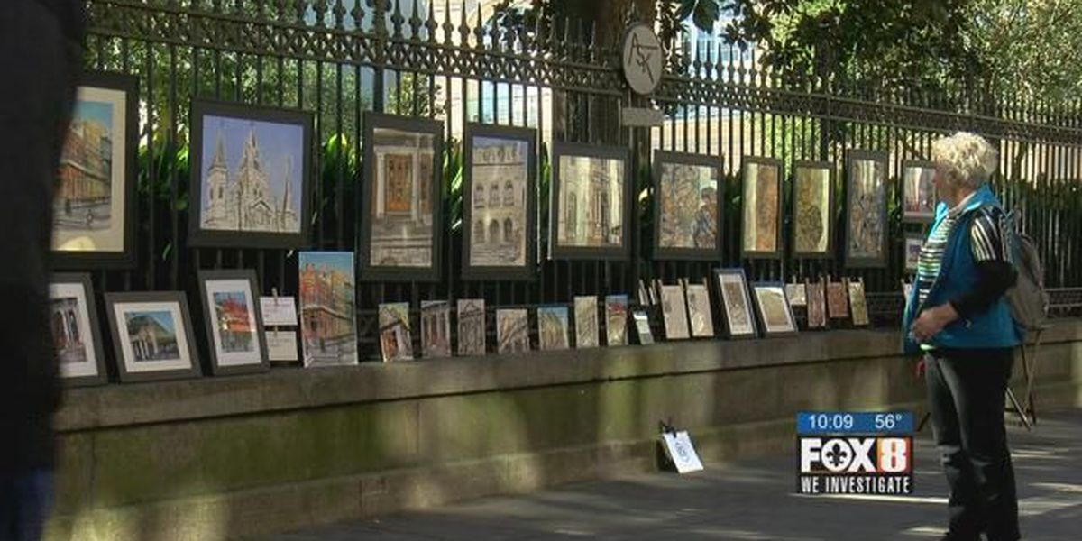 Louisiana Supreme Court throws out ordinance limiting street art sales