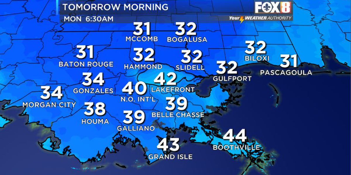 Cold Temperatures Over The Next Couple Of Days