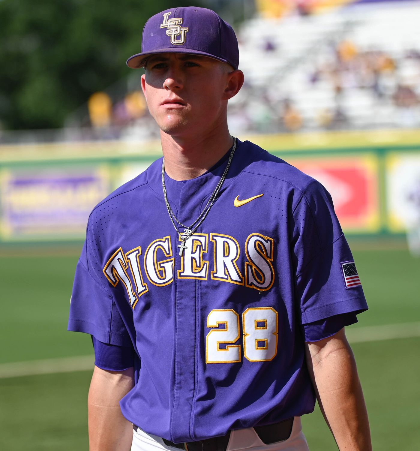 more photos d50f8 4b0b5 LSU's season ends in extra innings loss to Florida State on ...