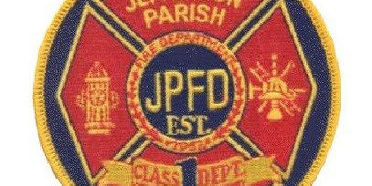 Jefferson Parish firefighters pull woman in her 90's from burning home