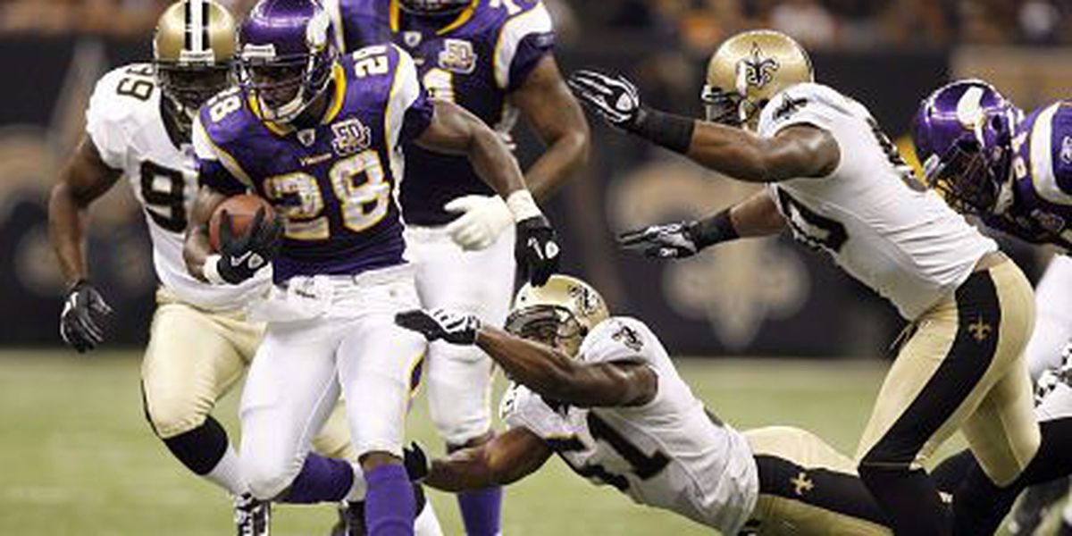 Adrian Peterson eager to embark on Saints tenure
