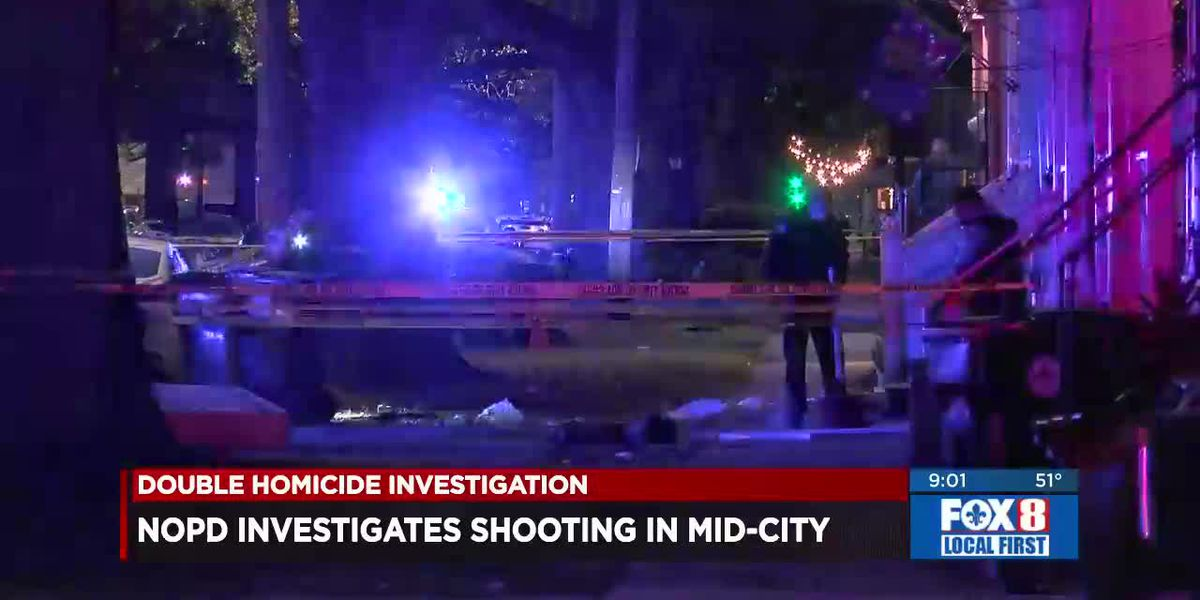 2 dead, 1 Injured in Mid-City Shooting