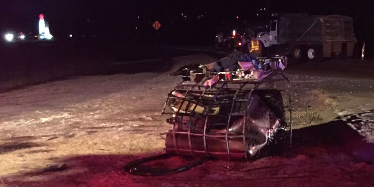 Chemical spill causes interstate on-ramp closure in Covington