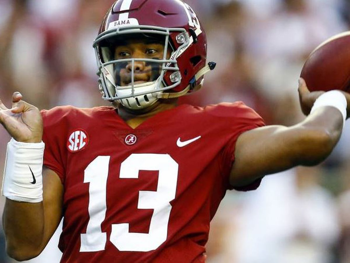 Bama hopeful Tua will be ready for LSU game