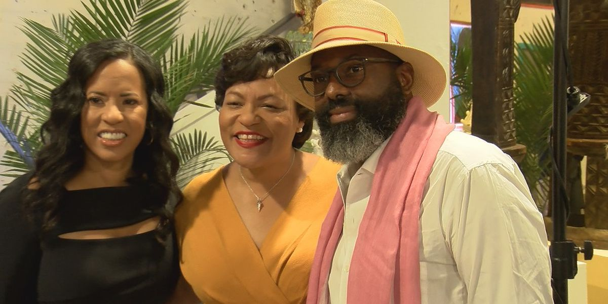 New Orleans Mayor LaToya Cantrell welcomes Essence Fest executives