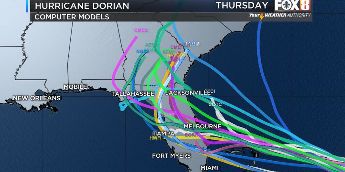 Shelby: Latest on Dorian; high temps to finish work week