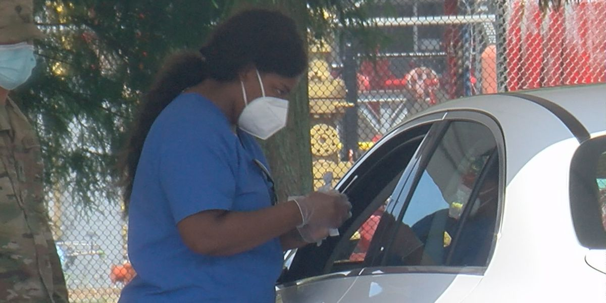 Testing up, positivity rate dropping in Jefferson Parish