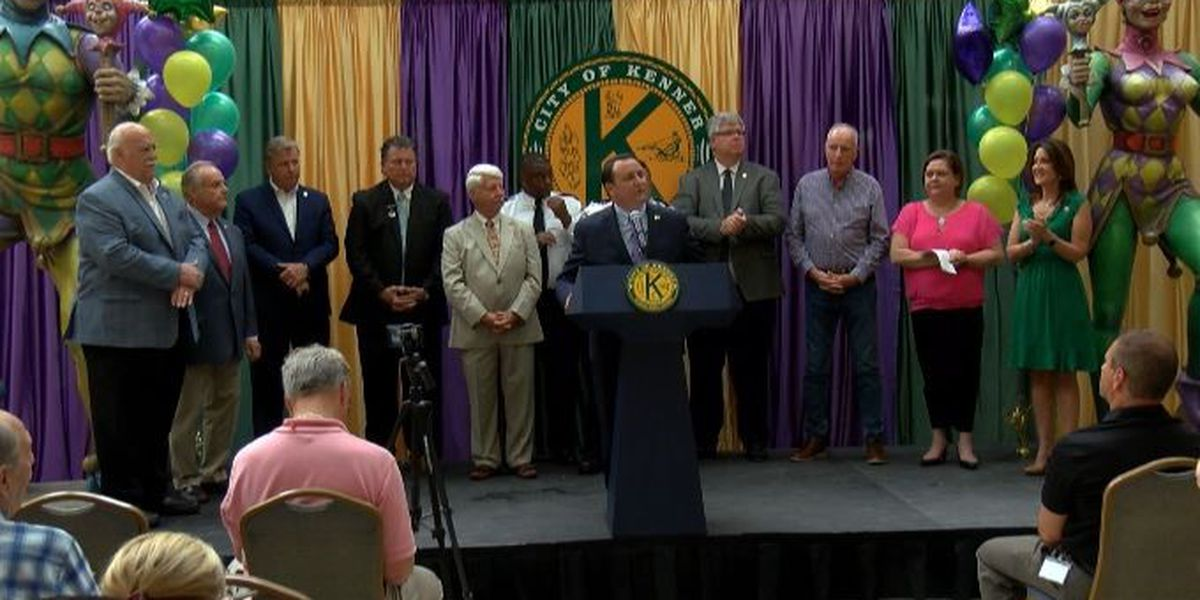 Mayor Ben Zahn shares details about the Krewe of Isis' move to Kenner