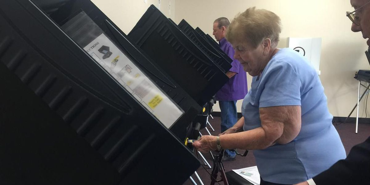 Voters hit the polls early in Jefferson Parish