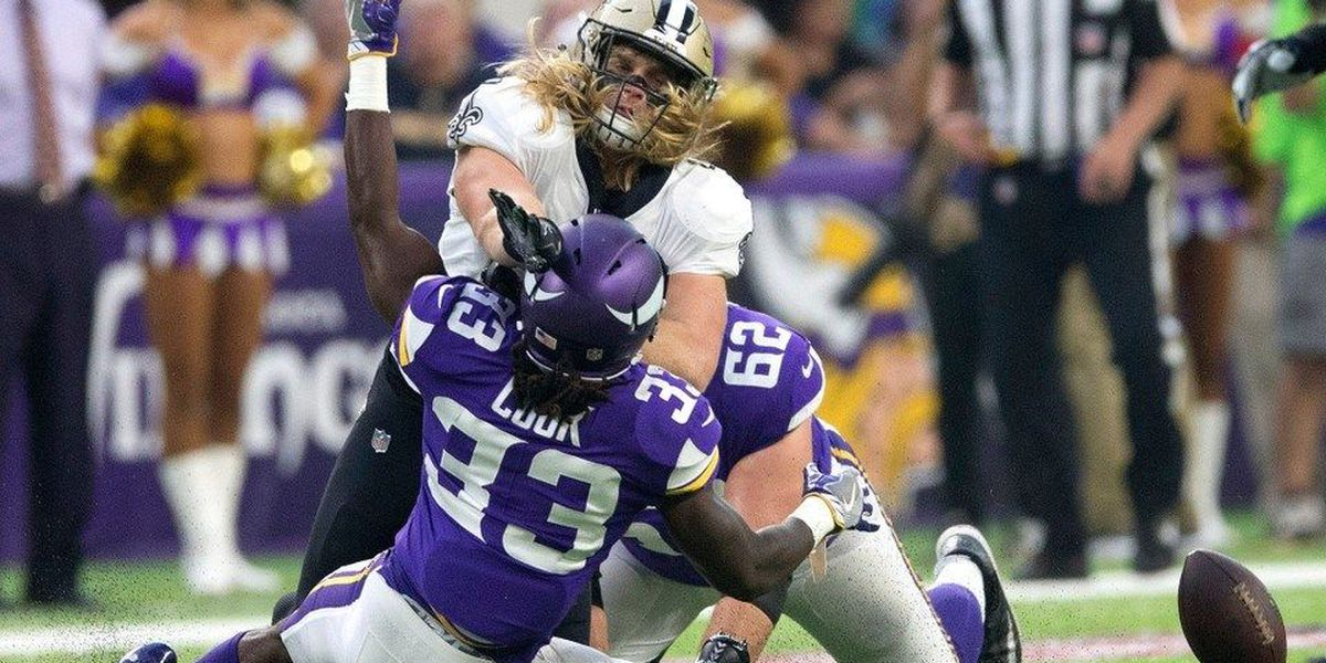 low priced 82356 5c275 Saints LB Alex Anzalone healthy and wants to stay that way