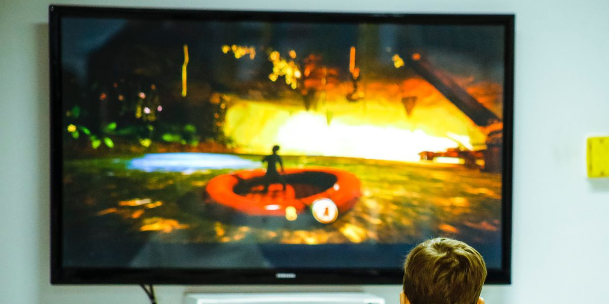 TV in a kid's room: A bad idea