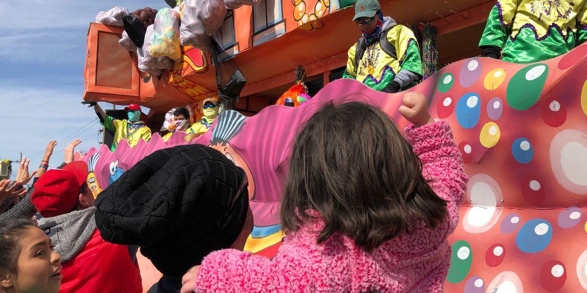 Mardi Gras rolls through Houma