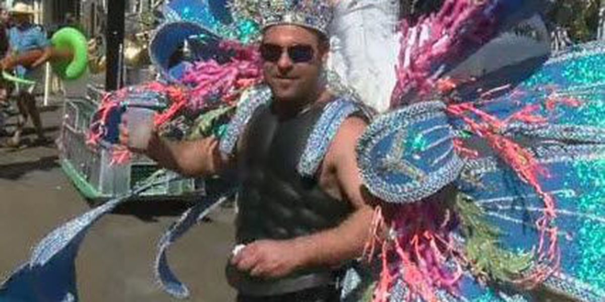 Video: Many flaunt their colorful costumes at the Bourbon Street Awards