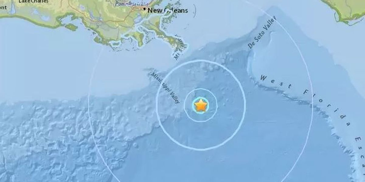 Scientists learn from Gulf of Mexico earthquake