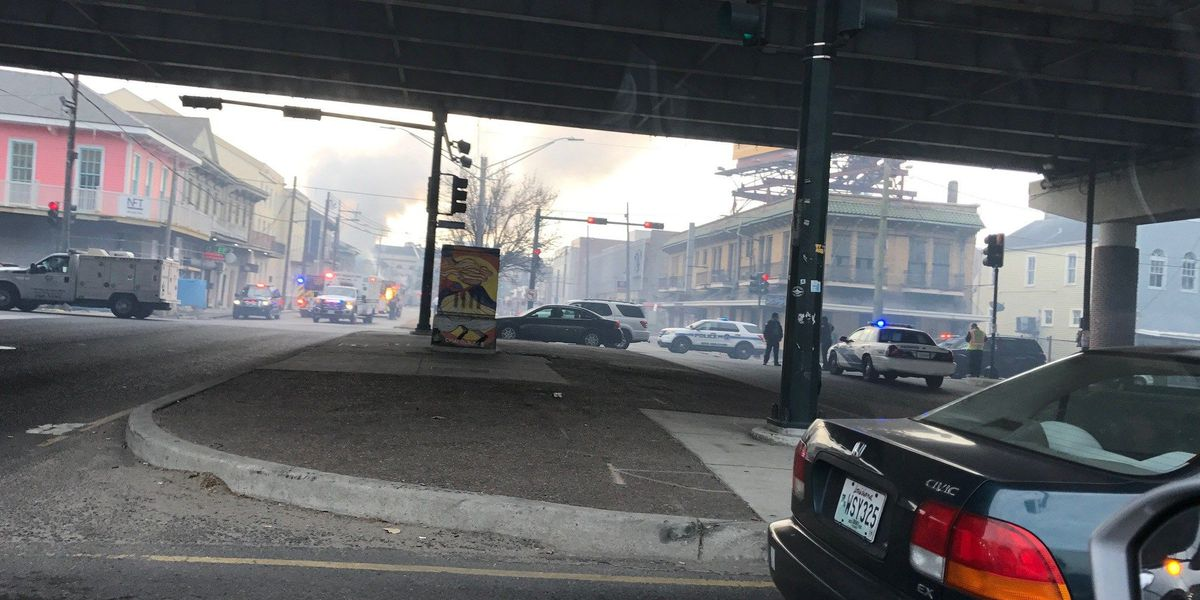 NOFD rescues two people from three-alarm fire in Treme