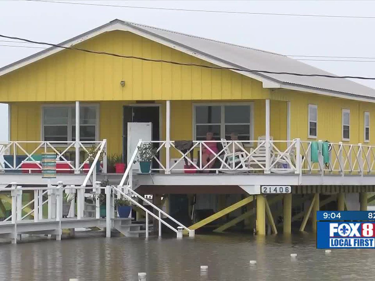 Lafourche waters begin to recede, but many areas still flooded