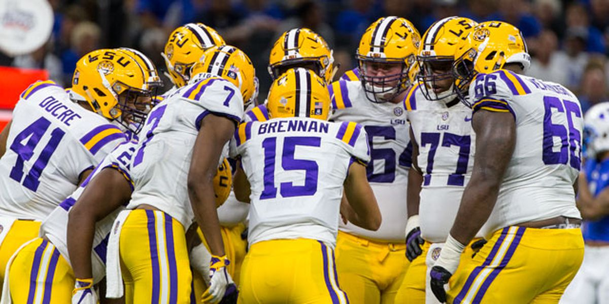 LSU QB Myles Brennan finally stable with his weight and his game