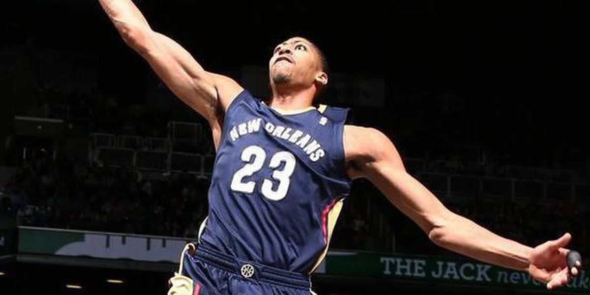 Davis leads Pelicans past Grizzlies, 106-95