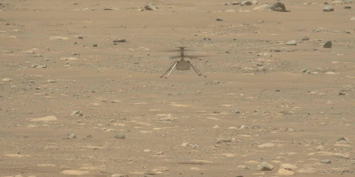 NASA's Perseverance rover hears Ingenuity Mars helicopter in flight