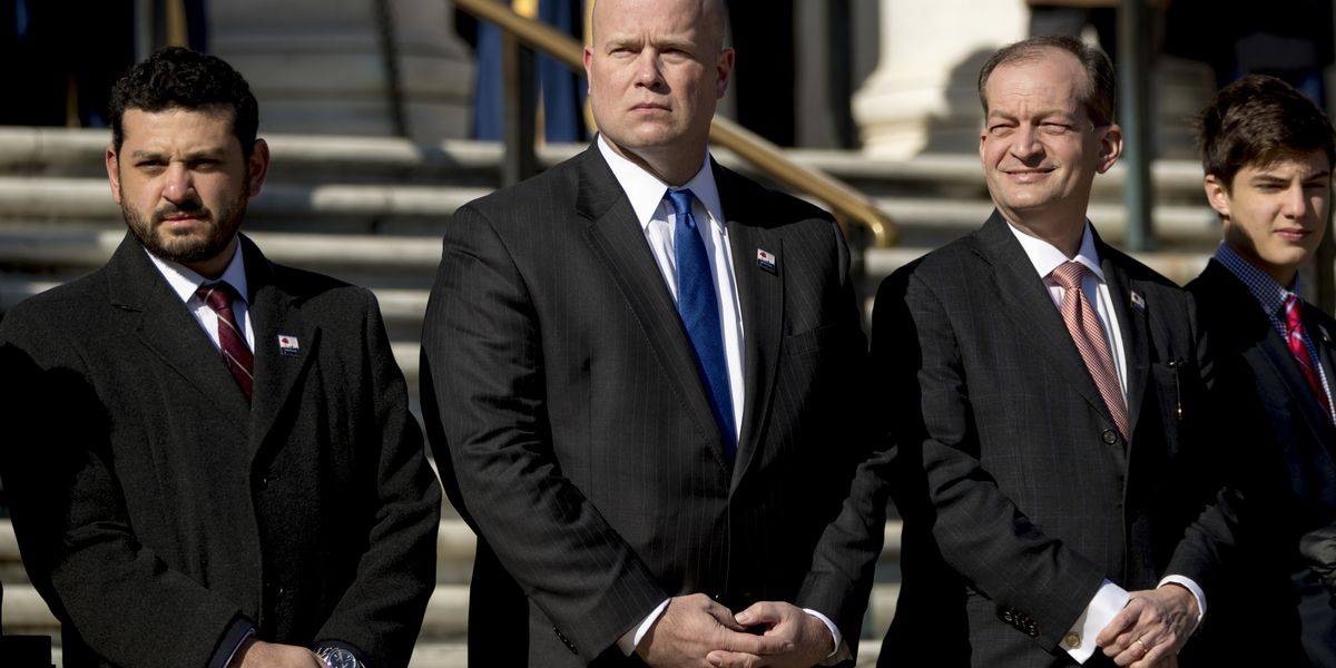 Whitaker will consult with ethics officials over recusal