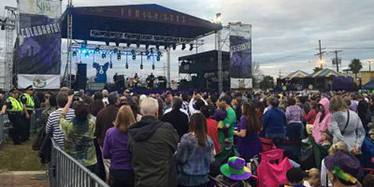 Family Gras draws record crowd