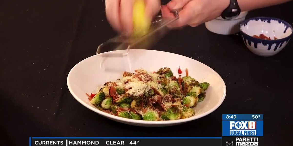 Chef Folse: Roasted Sprouts & Prosciutto