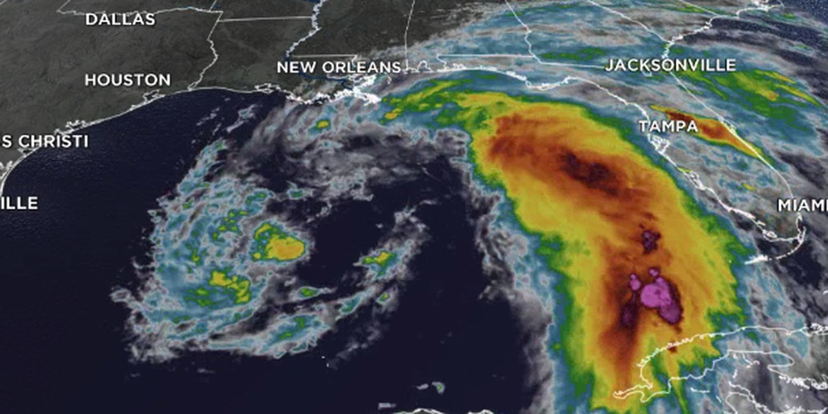 Cristobal strengthens to Tropical Storm, should make landfall Sunday