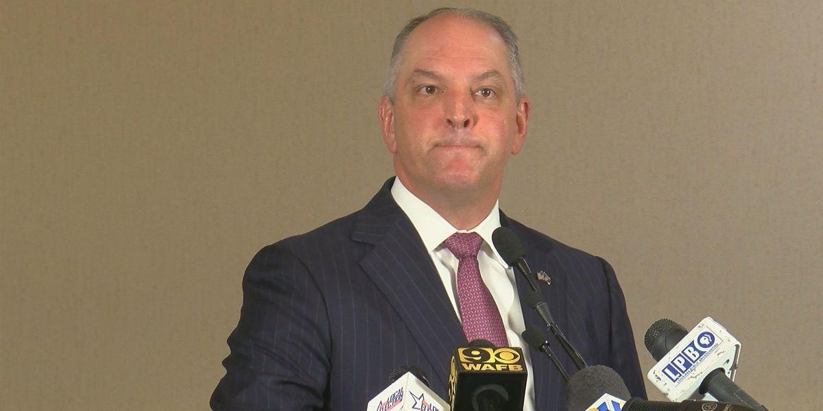 La. governor has big goals for 2019; confident in re-election bid