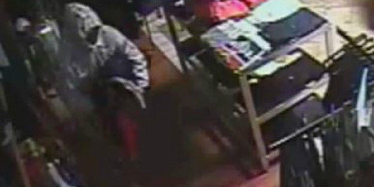 NOPD searching for clothing store burglar caught on camera