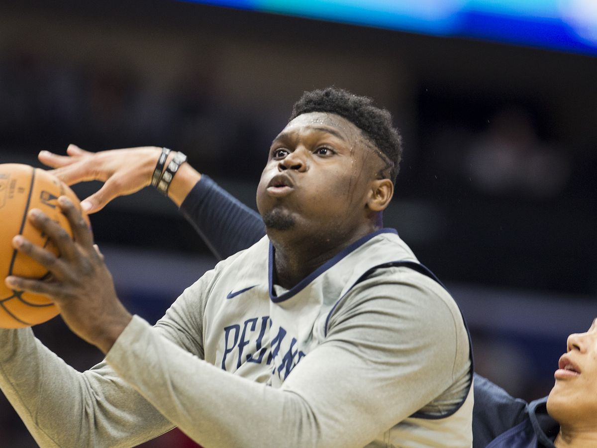 Zion Williamson scores 22 points in a Pelican win over the Spurs