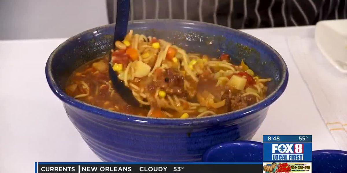 Chef Folse: Hunter's weekend vegetable soup