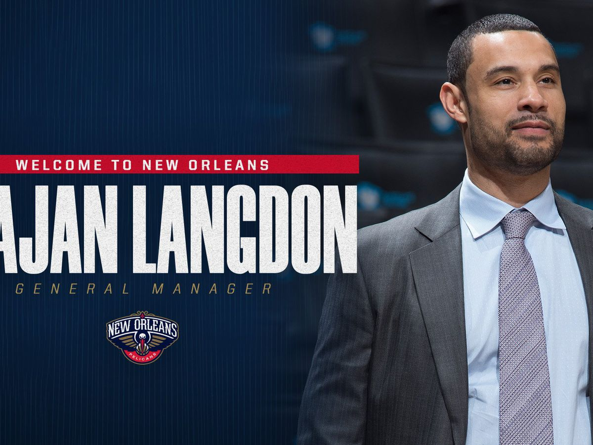 Pelicans hire Trajan Langdon as general manager