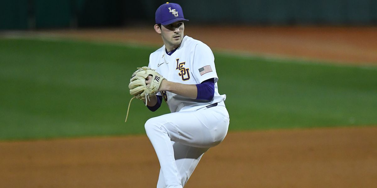 2020 MLB DRAFT: LSU RHP Cole Henry selected in second round by Nationals