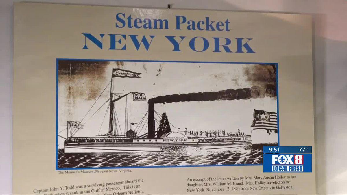 Heart of Louisiana: The SS New York
