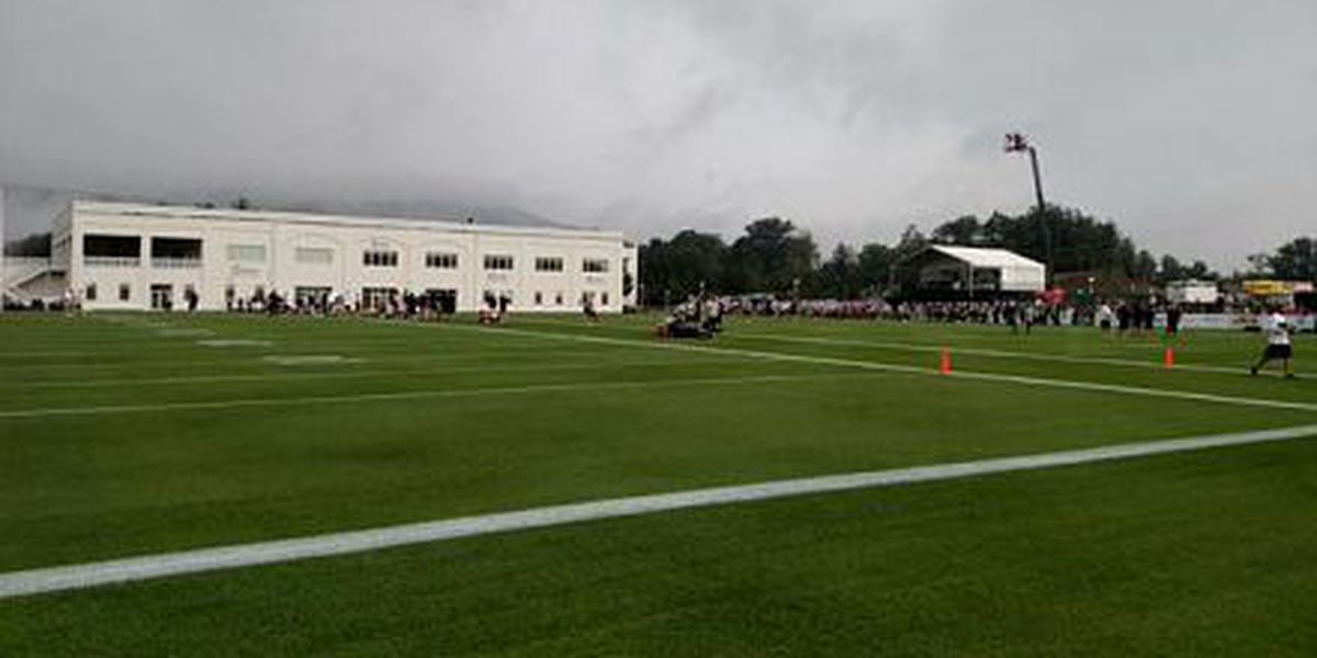 Sean Payton pleased with first day of practice, despite rain