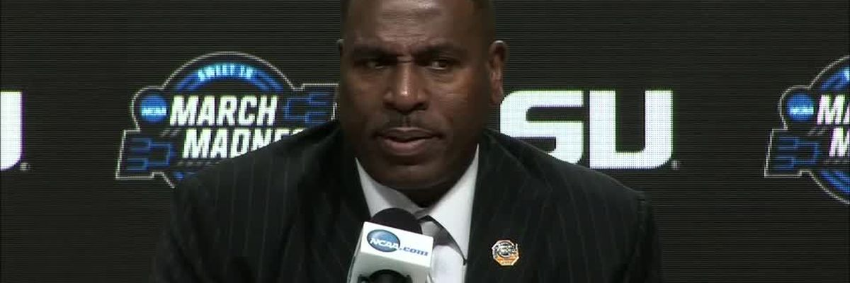 Coach Benford and the LSU players react to their March Madness run ending