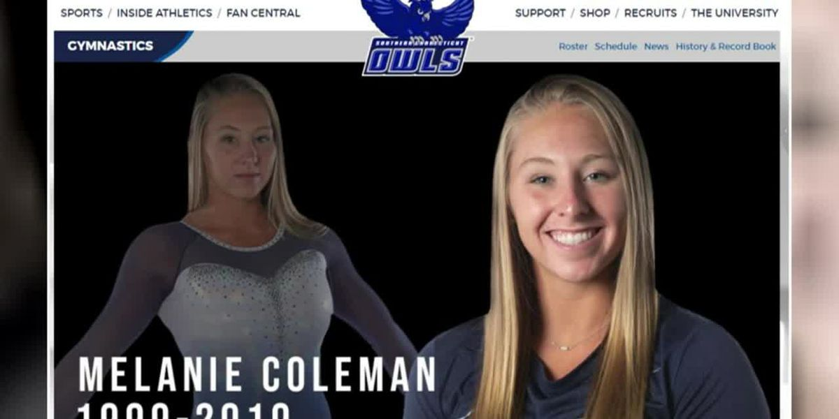 College gymnast dies after training accident