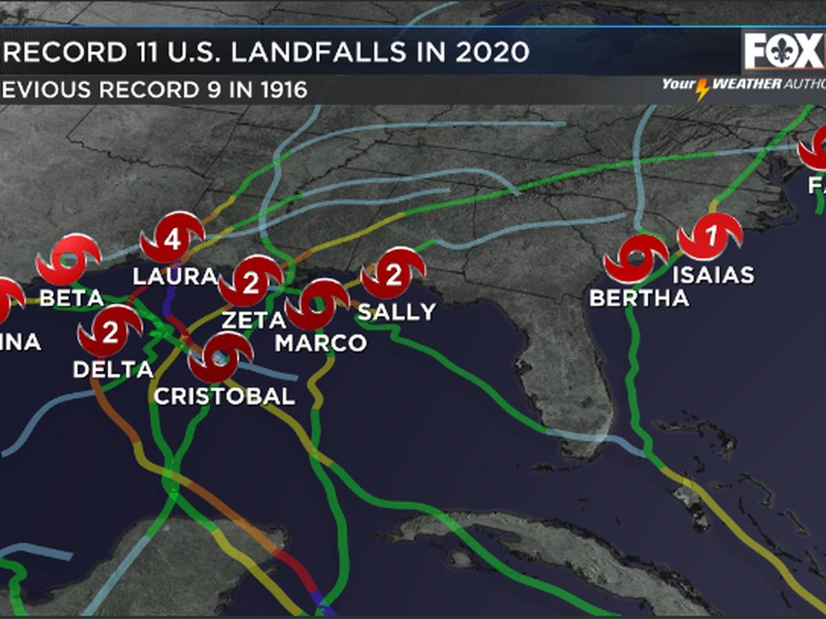 2020 Hurricane Season: A look at the long list of broken records
