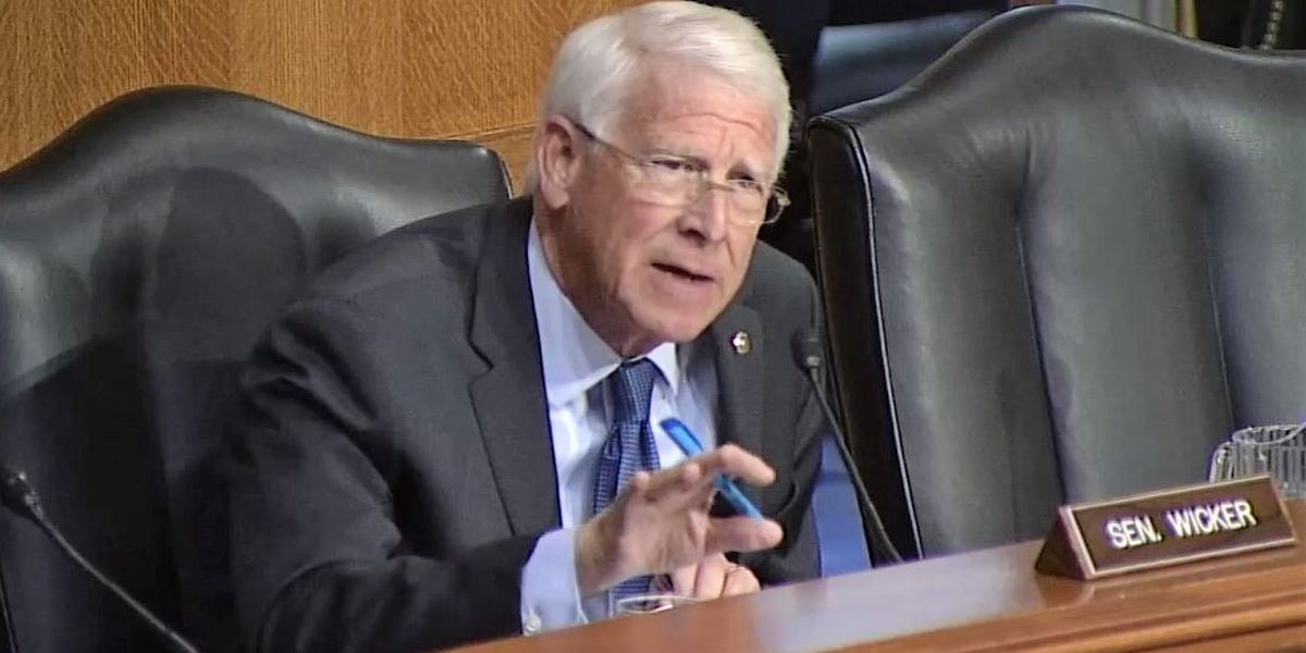 Sen. Wicker calls for comprehensive study of Lower Mississippi River flood controls