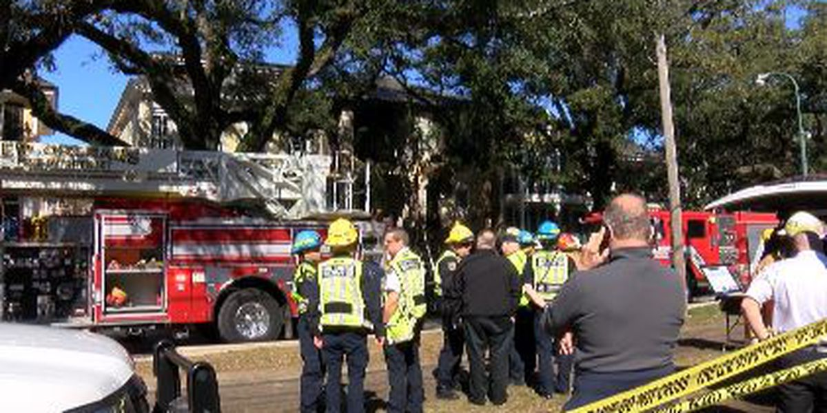 Displaced victims thank community after 4-alarm fire on St. Charles