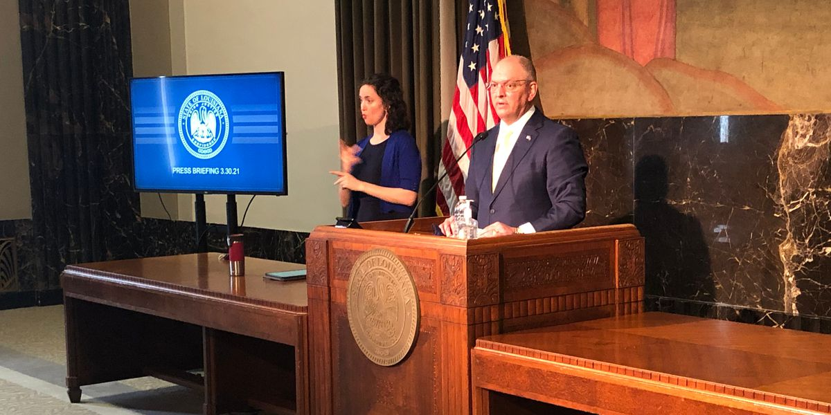 Gov. Edwards eases capacity restrictions for businesses but warns 'we're not out of the woods'